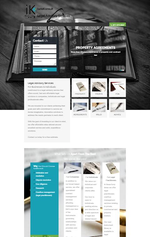 Starter business websites